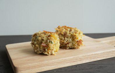 non fry kabocha pumpkin croquette (korokke)