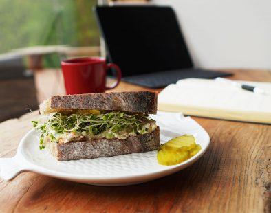 ヴィーガンチーズ-サラダサンドイッチ-レシピ-作り方-vegan-cheese-salad-sandwich-recipe